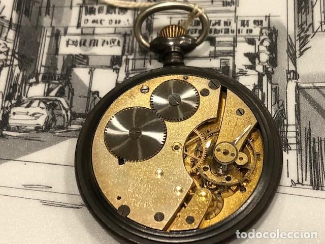 Relojes de bolsillo: reloj bolsillo cyma circla 1910 caja ferrosa medida 50 mm ,repasado mejor relojero de tc - Foto 3 - 138743570