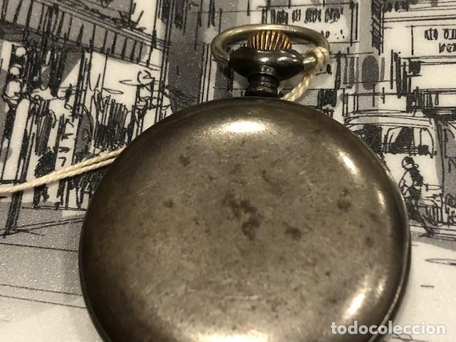 Relojes de bolsillo: reloj bolsillo cyma circla 1910 caja ferrosa medida 50 mm ,repasado mejor relojero de tc - Foto 4 - 138743570