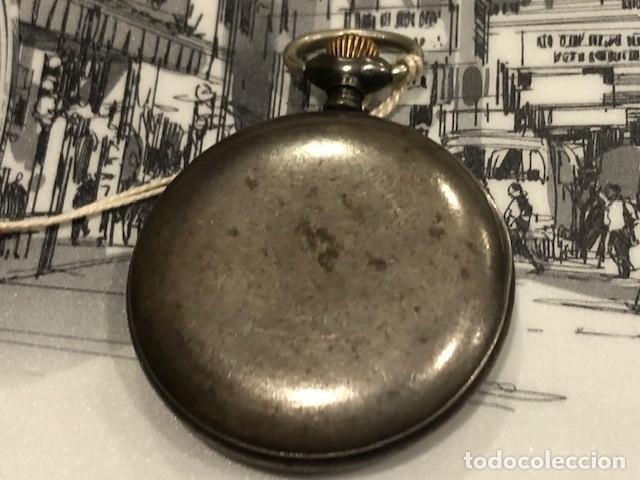 Relojes de bolsillo: reloj bolsillo cyma circla 1910 caja ferrosa medida 50 mm ,repasado mejor relojero de tc - Foto 5 - 138743570