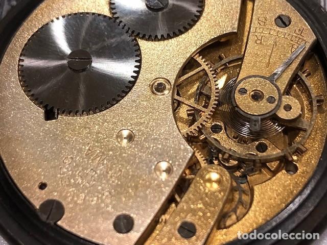 Relojes de bolsillo: reloj bolsillo cyma circla 1910 caja ferrosa medida 50 mm ,repasado mejor relojero de tc - Foto 6 - 138743570