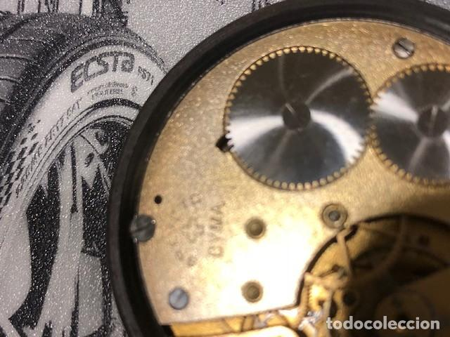 Relojes de bolsillo: reloj bolsillo cyma circla 1910 caja ferrosa medida 50 mm ,repasado mejor relojero de tc - Foto 8 - 138743570