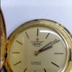 Relojes de bolsillo: RELOJ CORTEBERT HERMO. Lote 139093430