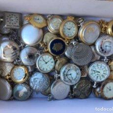 Relojes de bolsillo: 44 RELOJES DE BOLSILLO. COLECCION REPRODUCCION RELOJES ANTIGUOS. QUARZ. . Lote 139699094