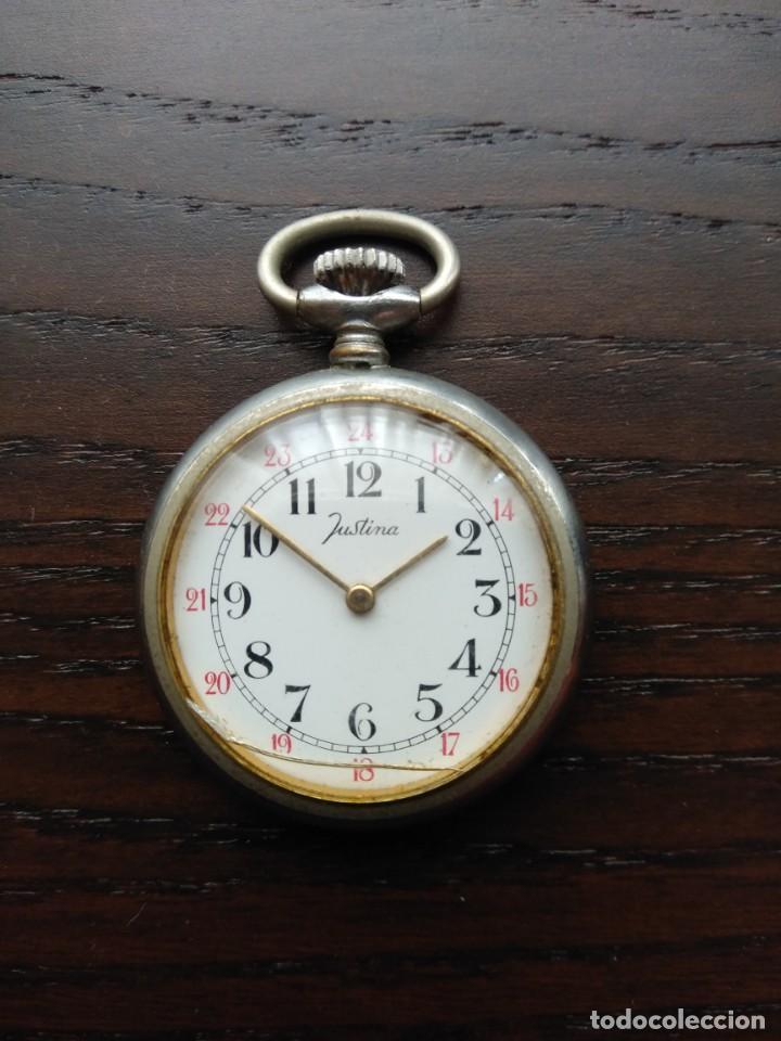 Relojes de bolsillo: Reloj de bolsillo JUSTINA (Funciona) - Foto 6 - 139817986