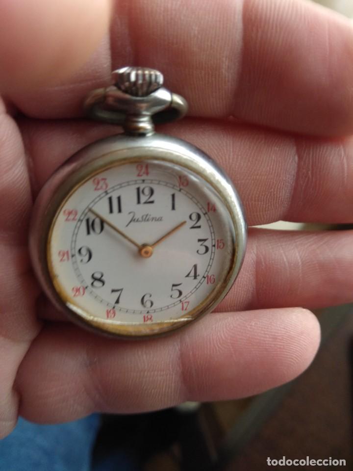 Relojes de bolsillo: Reloj de bolsillo JUSTINA (Funciona) - Foto 7 - 139817986