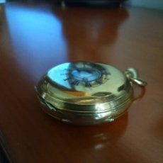 Relojes de bolsillo: RELOJ DE BOLSILLO-MEDIO CAZADOR. Lote 140171030