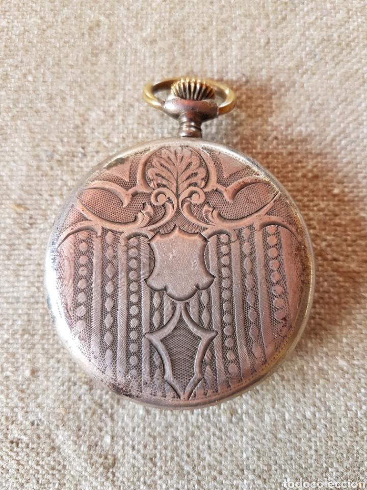 Relojes de bolsillo: Reloj bolsillo soletta extra plata suizo - Foto 2 - 140223752
