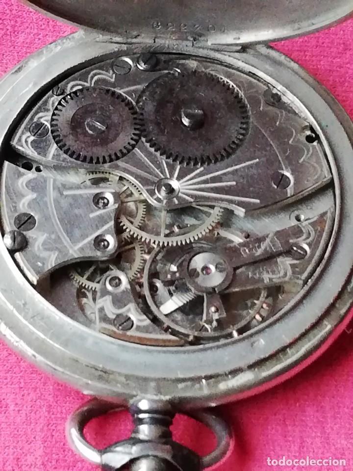 Relojes de bolsillo: Reloj de bolsillo en plata de ley 800 - Foto 2 - 140281662
