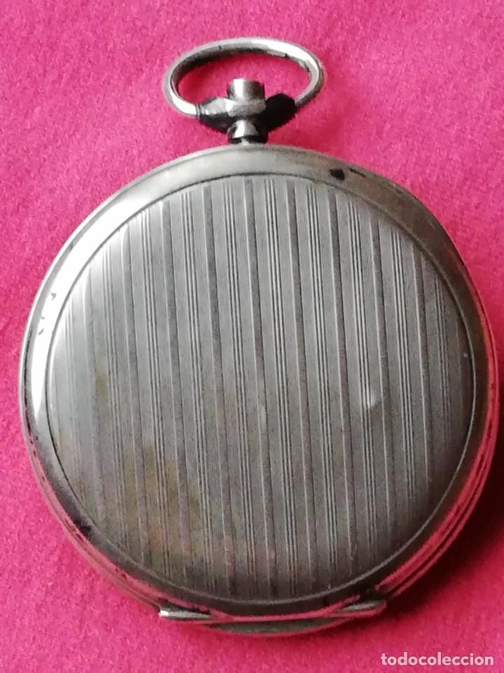 Relojes de bolsillo: Reloj de bolsillo en plata de ley 800 - Foto 3 - 140281662