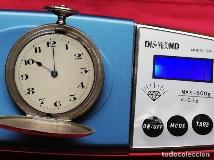 Relojes de bolsillo: Reloj de bolsillo en plata de ley 800 - Foto 7 - 140281662