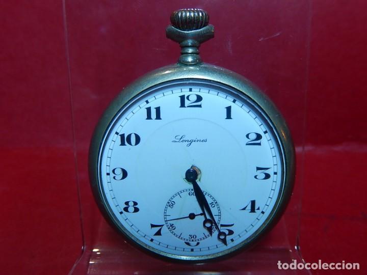 Relojes de bolsillo: Reloj de bolsillo Longines. - Foto 2 - 140288898