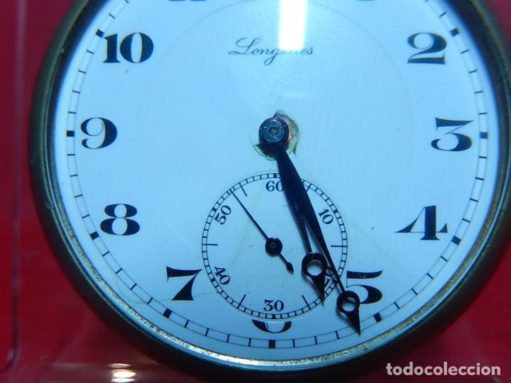 Relojes de bolsillo: Reloj de bolsillo Longines. - Foto 3 - 140288898