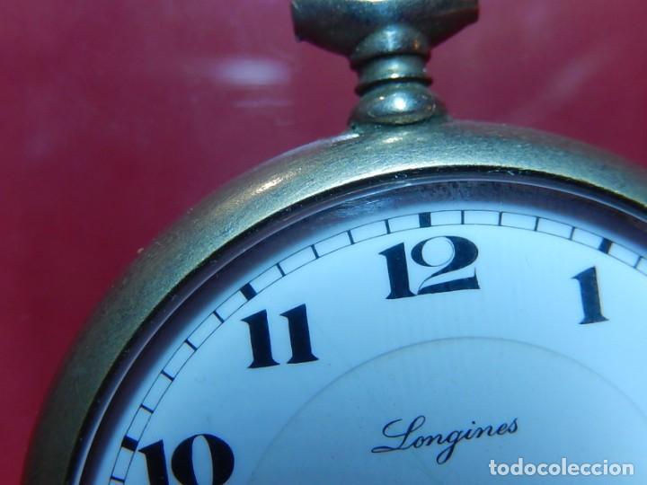 Relojes de bolsillo: Reloj de bolsillo Longines. - Foto 5 - 140288898