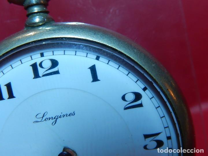 Relojes de bolsillo: Reloj de bolsillo Longines. - Foto 6 - 140288898