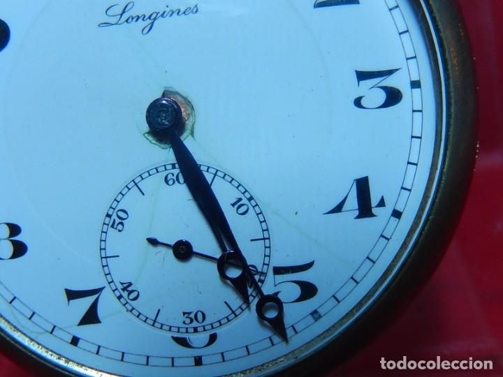 Relojes de bolsillo: Reloj de bolsillo Longines. - Foto 7 - 140288898