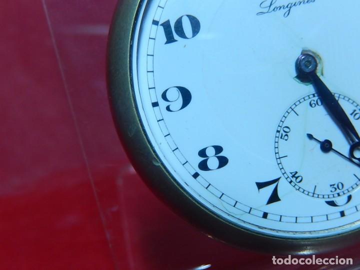 Relojes de bolsillo: Reloj de bolsillo Longines. - Foto 8 - 140288898