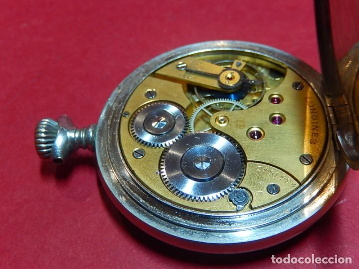 Relojes de bolsillo: Reloj de bolsillo Longines. - Foto 17 - 140288898