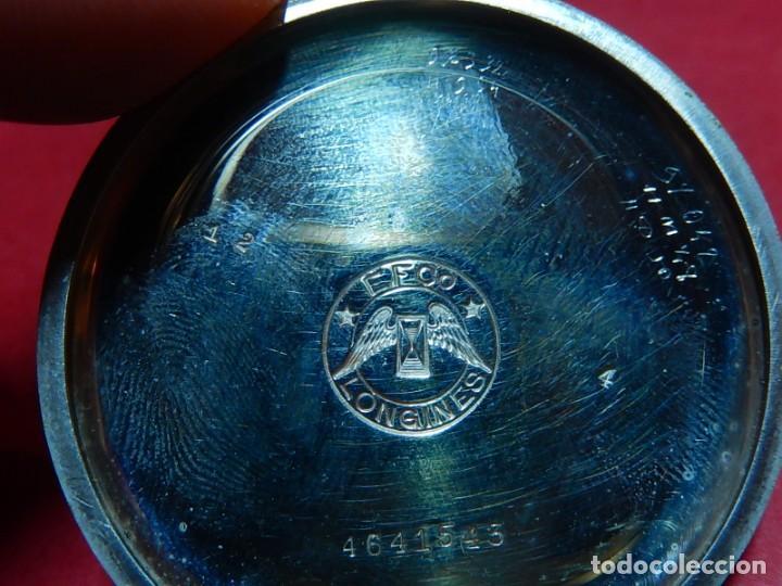 Relojes de bolsillo: Reloj de bolsillo Longines. - Foto 28 - 140288898
