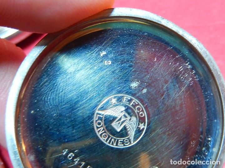 Relojes de bolsillo: Reloj de bolsillo Longines. - Foto 31 - 140288898