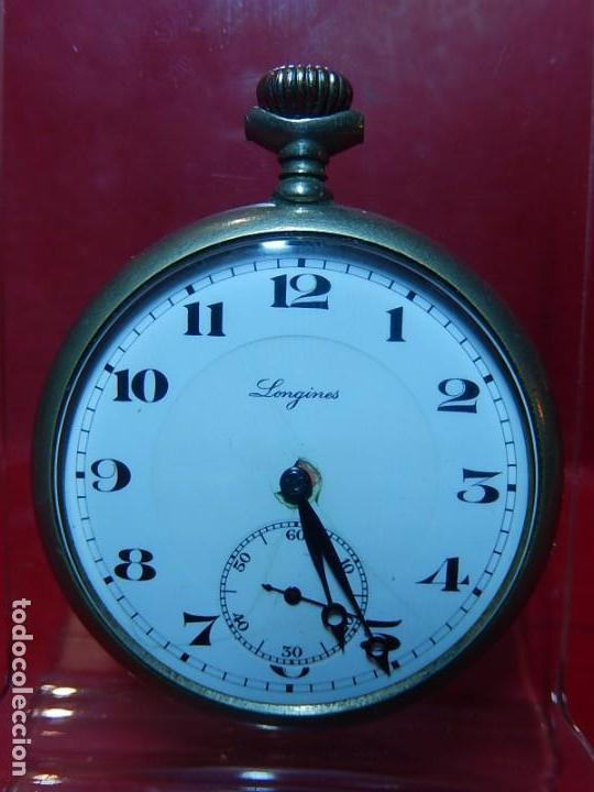 RELOJ DE BOLSILLO LONGINES. (Relojes - Bolsillo Carga Manual)