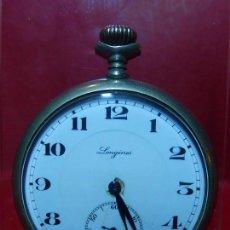 Relojes de bolsillo: RELOJ DE BOLSILLO LONGINES.. Lote 140288898