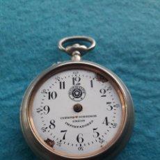 Relojes de bolsillo: RELOJ MARCA ROSKOPF. CUERVO Y SOBRINOS ÚNICOS IMPORTADORES. HABANA.. Lote 140530226