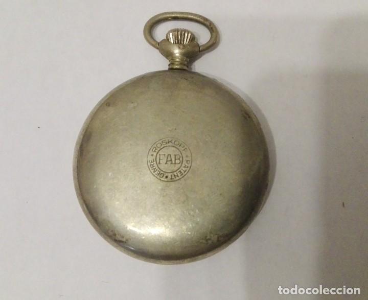 Relojes de bolsillo: RELOJ DE BOLSILLO GRE ROSKOPF PATENT.MADE SWISS. - Foto 2 - 140798258