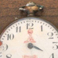 Relojes de bolsillo - reloj de bolsillo grande uñero marca hercules, no funciona ,donante o reparacion, eje volante bien - 141114850