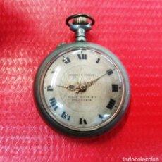 Relojes de bolsillo - Reloj bolsillo Salamanca.Roskopf grande.Ferreira.Plaza Mayor.Funciona - 141163602