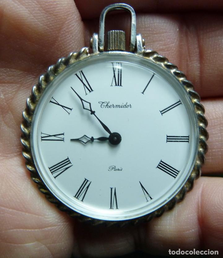 Relojes de bolsillo: Reloj de Bolsillo Thermidor - Foto 4 - 141478262