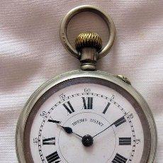 Relojes de bolsillo: RARO RELOJ DE BOLSILLO ANTIGUO TRIUMFO PATENT . Lote 141564010
