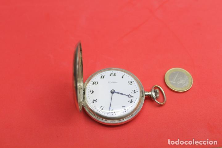 Relojes de bolsillo: LOTE DE SIETE RELOJES DE BOLSILLO DE PLATA DE LEY - Foto 4 - 142087374