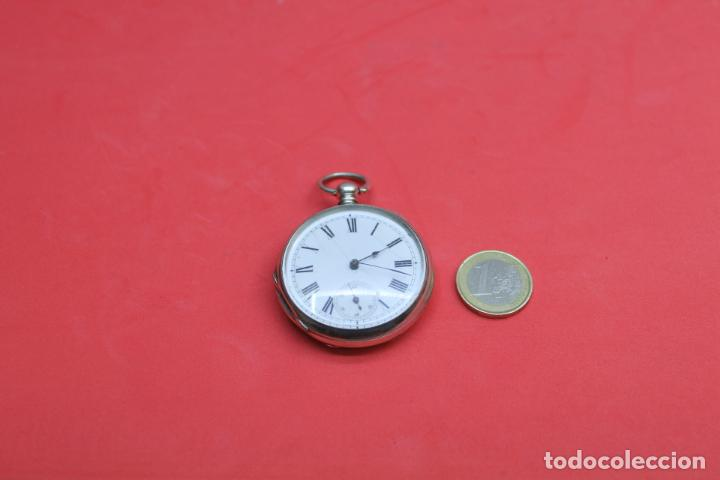 Relojes de bolsillo: LOTE DE SIETE RELOJES DE BOLSILLO DE PLATA DE LEY - Foto 6 - 142087374