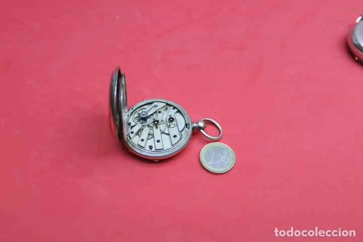 Relojes de bolsillo: LOTE DE SIETE RELOJES DE BOLSILLO DE PLATA DE LEY - Foto 8 - 142087374