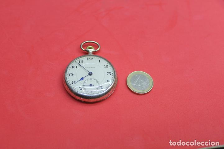 Relojes de bolsillo: LOTE DE SIETE RELOJES DE BOLSILLO DE PLATA DE LEY - Foto 9 - 142087374