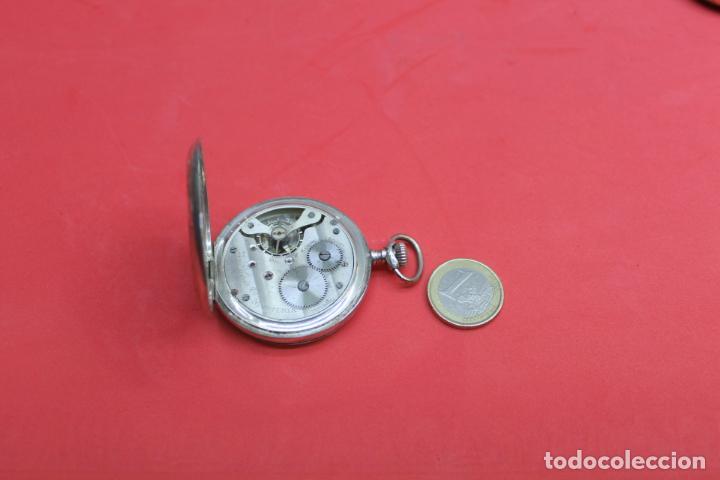Relojes de bolsillo: LOTE DE SIETE RELOJES DE BOLSILLO DE PLATA DE LEY - Foto 10 - 142087374