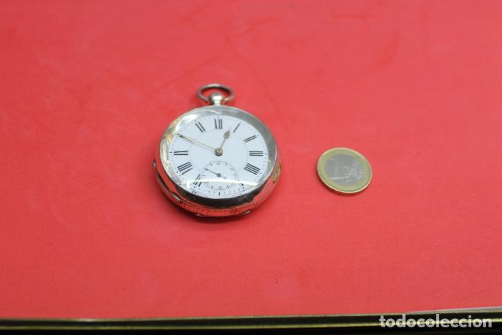 Relojes de bolsillo: LOTE DE SIETE RELOJES DE BOLSILLO DE PLATA DE LEY - Foto 12 - 142087374