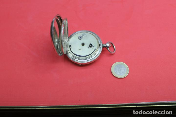 Relojes de bolsillo: LOTE DE SIETE RELOJES DE BOLSILLO DE PLATA DE LEY - Foto 13 - 142087374