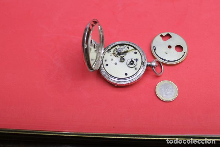 Relojes de bolsillo: LOTE DE SIETE RELOJES DE BOLSILLO DE PLATA DE LEY - Foto 14 - 142087374