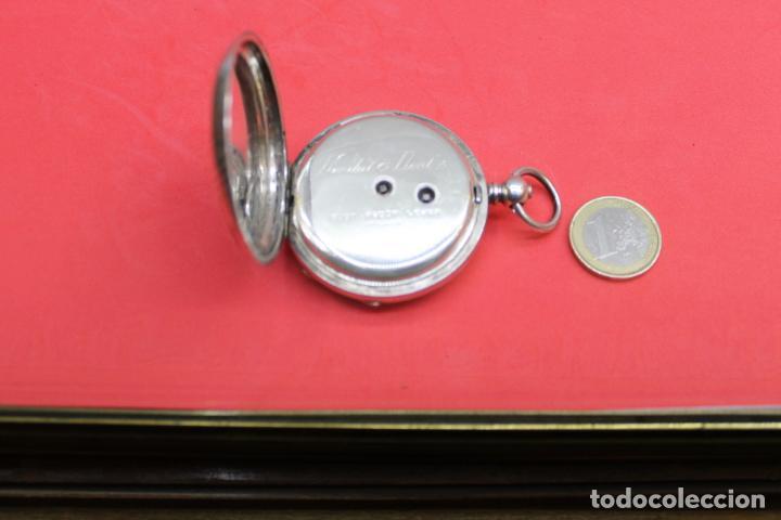 Relojes de bolsillo: LOTE DE SIETE RELOJES DE BOLSILLO DE PLATA DE LEY - Foto 15 - 142087374