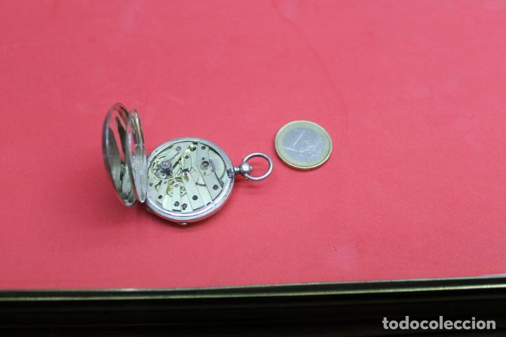 Relojes de bolsillo: LOTE DE SIETE RELOJES DE BOLSILLO DE PLATA DE LEY - Foto 16 - 142087374