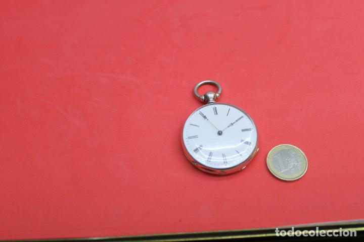 Relojes de bolsillo: LOTE DE SIETE RELOJES DE BOLSILLO DE PLATA DE LEY - Foto 17 - 142087374