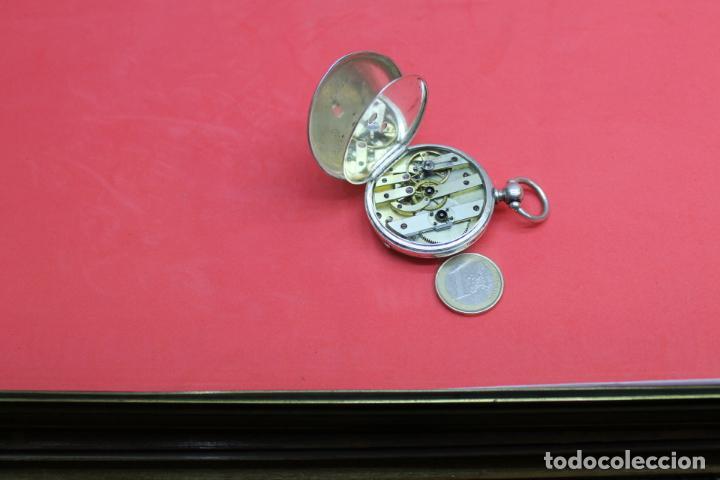 Relojes de bolsillo: LOTE DE SIETE RELOJES DE BOLSILLO DE PLATA DE LEY - Foto 18 - 142087374