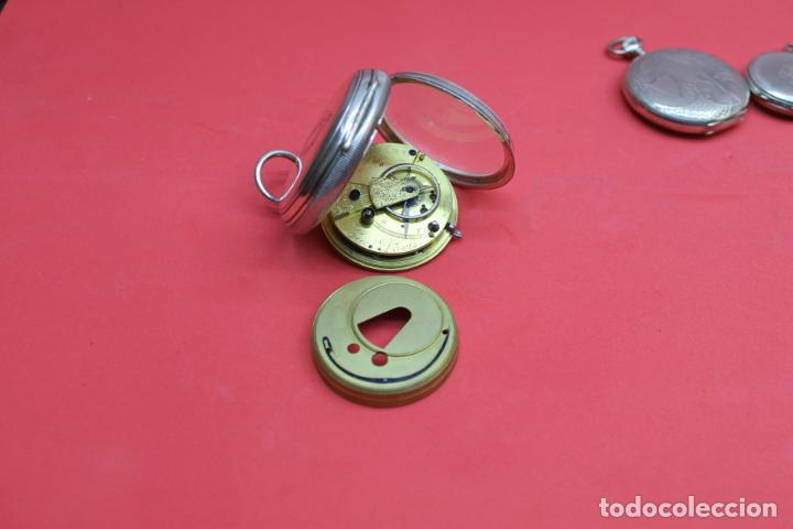 Relojes de bolsillo: LOTE DE SIETE RELOJES DE BOLSILLO DE PLATA DE LEY - Foto 20 - 142087374