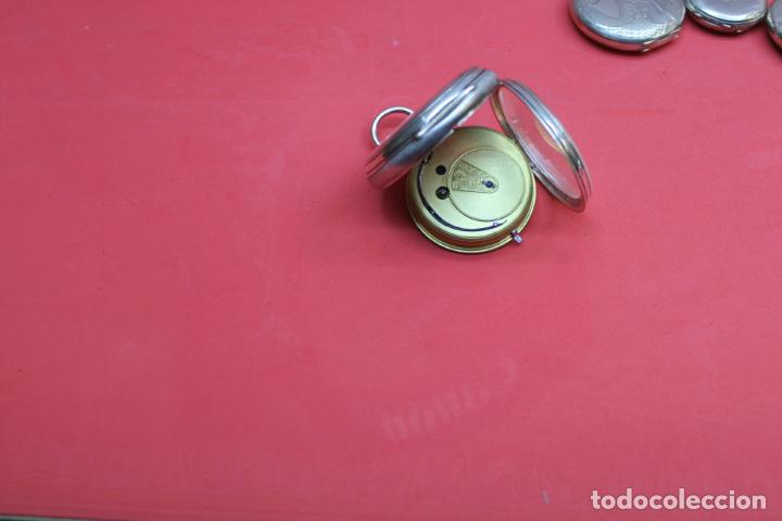 Relojes de bolsillo: LOTE DE SIETE RELOJES DE BOLSILLO DE PLATA DE LEY - Foto 21 - 142087374