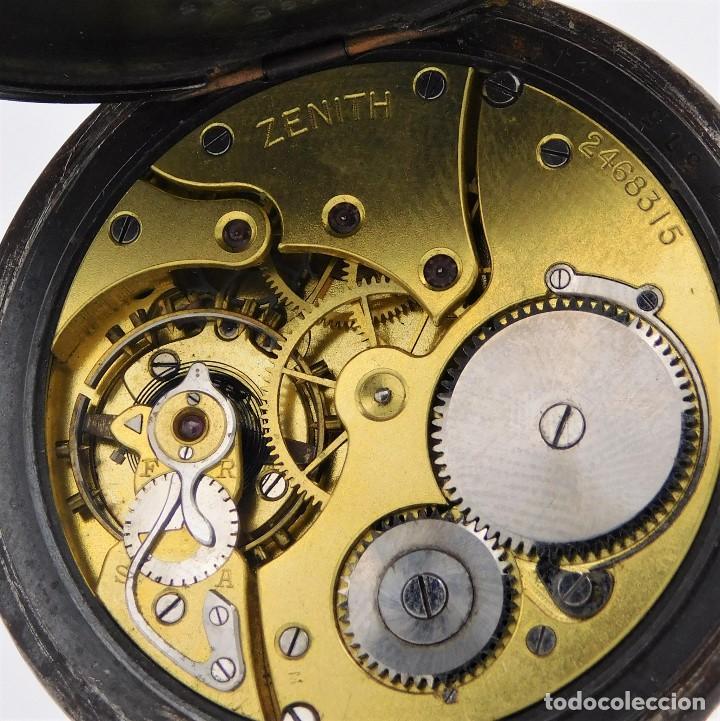 Relojes de bolsillo: ZENITH GRAN PRIX 1900-RELOJ DE BOLSILLO-2 TAPAS-CIRCA 1920-FUNCIONANDO - Foto 2 - 142196926