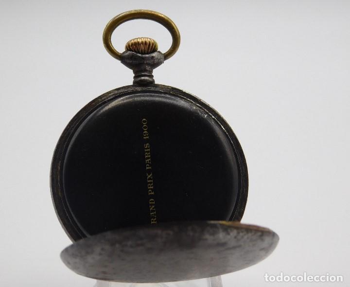 Relojes de bolsillo: ZENITH GRAN PRIX 1900-RELOJ DE BOLSILLO-2 TAPAS-CIRCA 1920-FUNCIONANDO - Foto 9 - 142196926