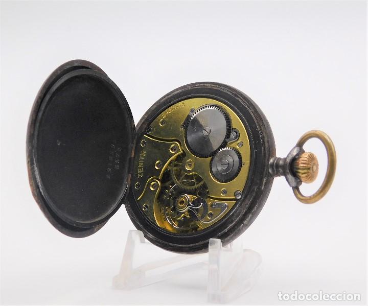 Relojes de bolsillo: ZENITH GRAN PRIX 1900-RELOJ DE BOLSILLO-2 TAPAS-CIRCA 1920-FUNCIONANDO - Foto 11 - 142196926