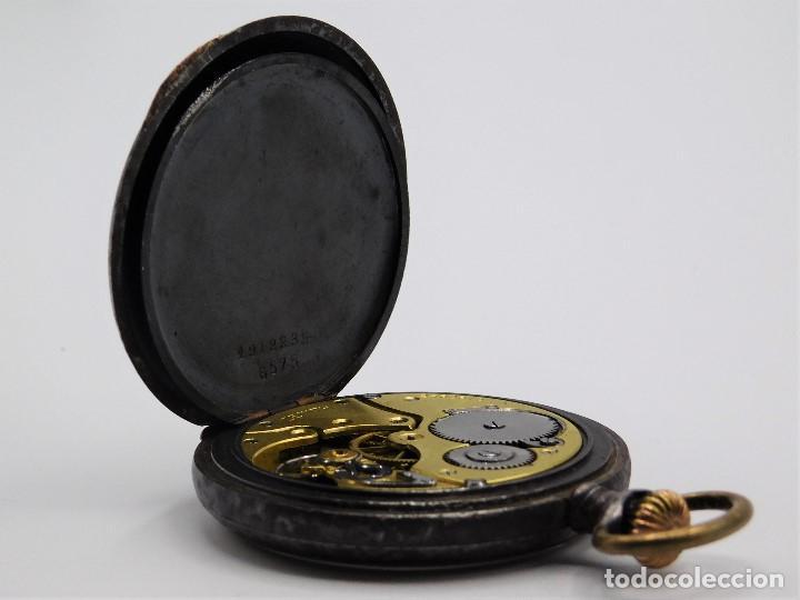 Relojes de bolsillo: ZENITH GRAN PRIX 1900-RELOJ DE BOLSILLO-2 TAPAS-CIRCA 1920-FUNCIONANDO - Foto 12 - 142196926