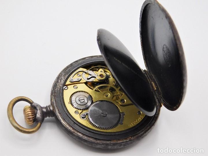 Relojes de bolsillo: ZENITH GRAN PRIX 1900-RELOJ DE BOLSILLO-2 TAPAS-CIRCA 1920-FUNCIONANDO - Foto 13 - 142196926